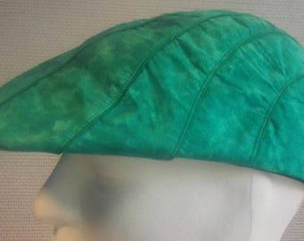 platte pet model XIII groen/groen
