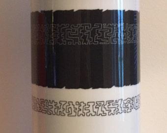 Signed Giant Cuno Fischer Rosental Porcelain Vintage Vase - 100% mint cond.