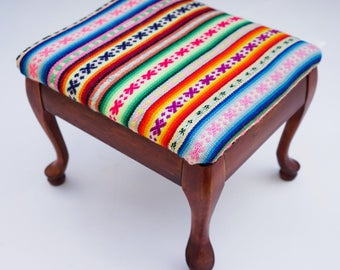Peruvian Foot Stool // Decoration // Home Decor