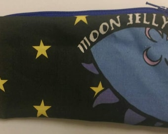 Moon Jellyfish Pencil Case