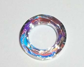 Swarovski cosmic ring component style 4139 Crystal AB -- Available in 14mm, 20mm and 30mm