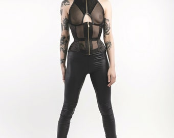 ULTIMATE END high neck corset