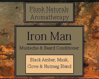 Iron Man Beard and Mustache Conditioner