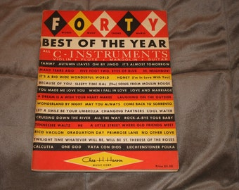 Forty Best of the Year Song Book 1961
