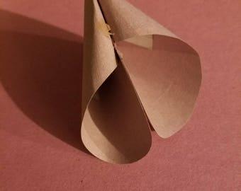 Valentine's Paper fortune cookie