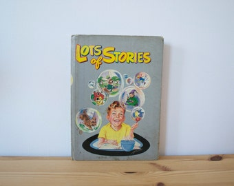 S A L E Vintage children's book - Lots of Stories (1946)