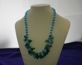 Beautiful Bluebells Necklace