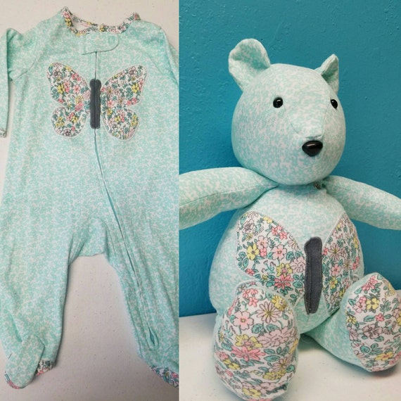 Memory Bear From Child's Clothing