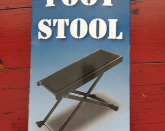 Guitar Foot Stool