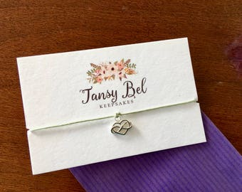 Wish bracelet for girlfriend, valentines day gift ideas for women, girlfriend gifts under 10, valentines day gift idea for wife, heart gift