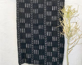 Mud Cloth African Mudcloth Fabric Tribal Pattern Bogolanfini Boho Wall Decorations #60