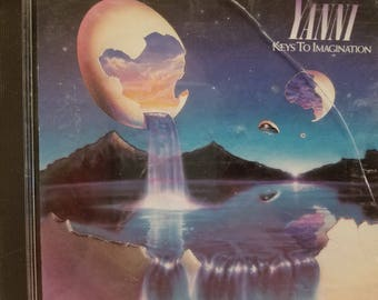 YANNI - Keys to Imagination CD -  Vintage 1986 Music CD - Soft Relaxing Music