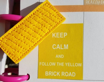 Yellow Brick Road Paper Clip