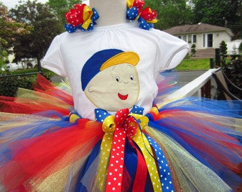 Caillou primary color top