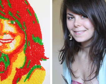 Gummy Bear Portrait Custom Made - As Seen In Urban Outfitters