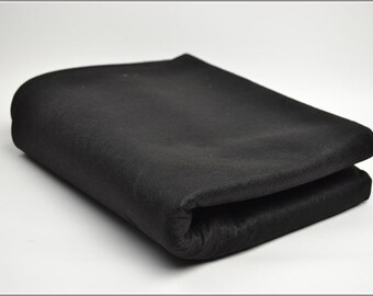 Free Shipping Chinese Calligraphy Material  1.2x0.8m Black Wool Felt / Wool Felt Pad / Wool Felt Mat - Wool Blend -  0006