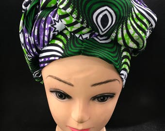1 Yard 76/23 inches African print wax head accessories