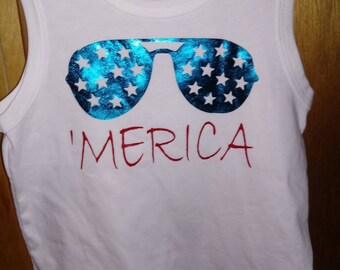 Boys independence day shirt