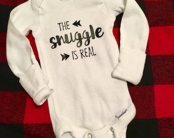 The Snuggle is Real romper