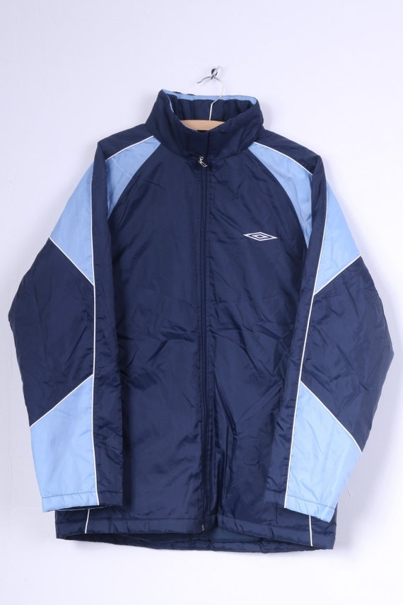 Adidas Mens 38/40 M Jacket Padded Nylon Waterproof Hood XcpN4XFNC