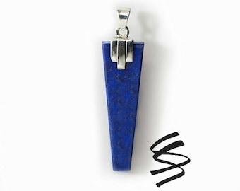 Lapis Lazuli Necklace Lapis Lazuli Pendant Lapis Lazuli Jewelry Blue Lapis Lazuli Blue Lapis Jewelry Lapis Lazuli Gemstone Lapis Necklace