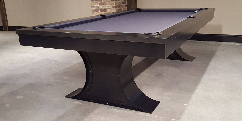 industrial furniture hardware. Xane Steel Pool Table-Industrial Furniture-Restoration Hardware Inspired-Gaming Table-Game Of Thrones-Modern Furniture-Gift For Him Industrial Furniture