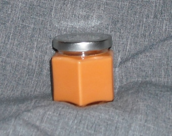 4 oz hexagon scented candle