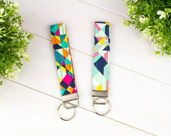 Key Fobs/Wristlets (Geometric Collection )