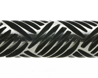 Kor Tools -018 Basket Weave texture roller for polymer clay you keep the design rolling