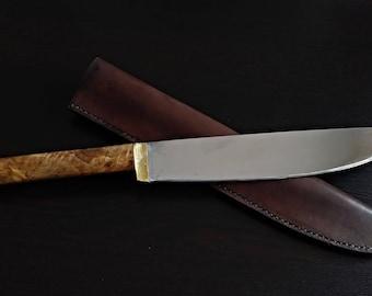 Rustic chopper knife