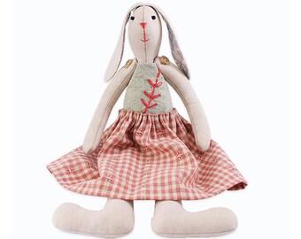 Rabbit Stuffed Doll Making Kit DIY Easy Sewing Project Kit
