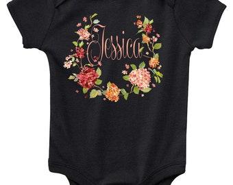 Baby Bodysuit - Custom Personalized with the Name of Your Choice