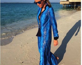 Exclusive maxi beach dress/coverup