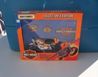 Harley Davidson Matchbox Gift Set