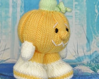 KNITTING PATTERN - Pumpkin Knitting Pattern Download From Knitting by Post