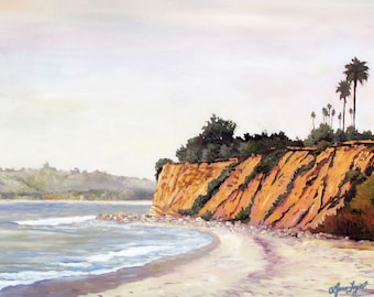 Butterfly Beach, Santa Barbara, Montecito beach, Santa Barbara beach prints, santa barbara Canvas print, Gallery Wrap Canvas, Santa Barbara