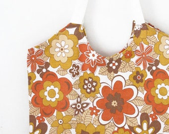 Tote bag, market bag, shopping bag, book bag, vintage bag, vintage fabric, beach bag