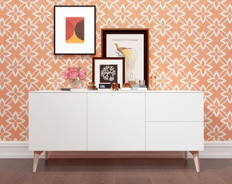 Wall Stencil - Geometric Wall Stencil For Wall Decor.