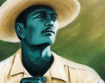 Working Man – Canvas Print 16x20