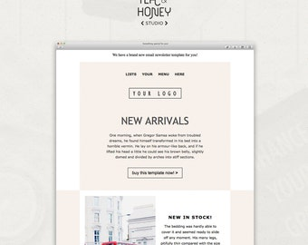 E Mail Template Etsy