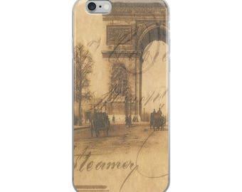 iPhone Case. Travel. Paris. France. French. Vintage. Accessories. Print. Photograph
