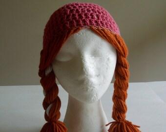 Frozen's Princess Anna!! - Child's size Anna hat - FREE STANDARD SHIPPING!!