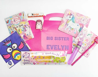 Big Sister Gift | Personalised Present | New Baby Sibling | Gift Box Present | Congratulations | Keep Them Included | Not Left Out