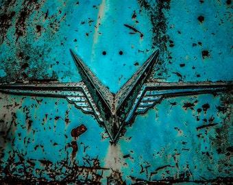 Flying V - Print on Metal
