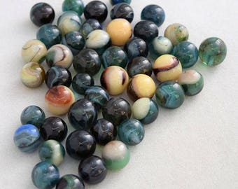 Glass Marbles Alpha & Omega Limited Edition