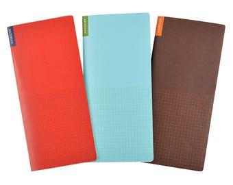 Hobonichi memo pad weeks 3 packs set 40 pages each