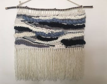 Woven wall hanging / wall tapestry/ weaving - extra large