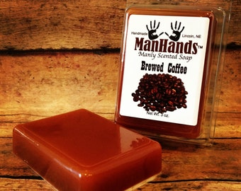 Brewed Coffee Scented Soap 3 oz. Bar