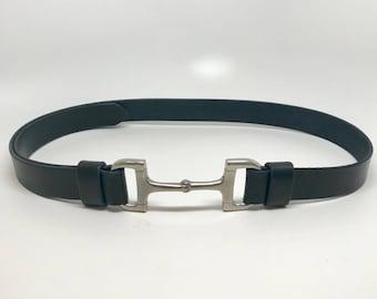 Dee Bit Belt, D Bit Belt, Equestrian Belt, Horse Bit Belt, Brown Leather Belt, Black Leather Belt, Horse Belt, English Belt, Belt, Belts,