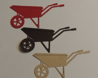 Wheelbarrow Die Cut